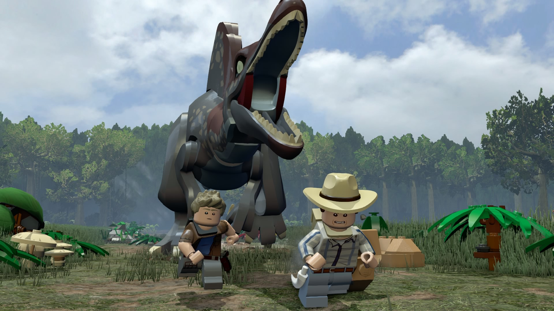 скачать lego jurassic world