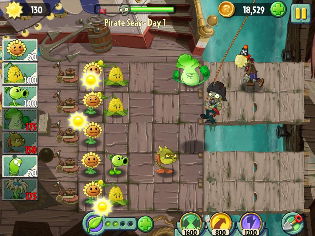 зомби против растений 2