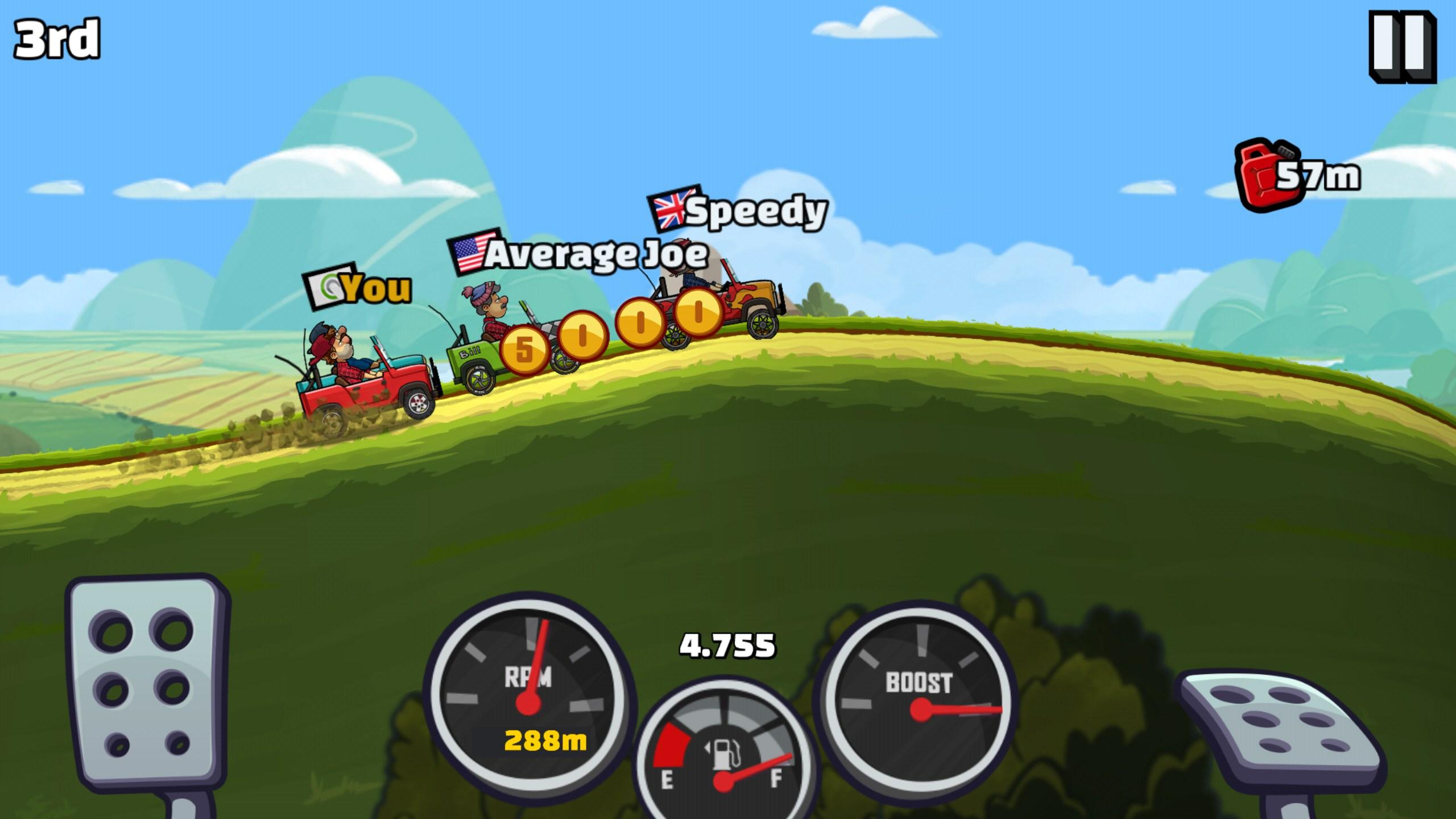 скачать взлом hill climb racing 2