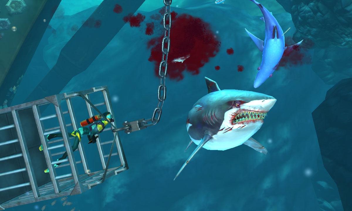 hungry shark world взлом
