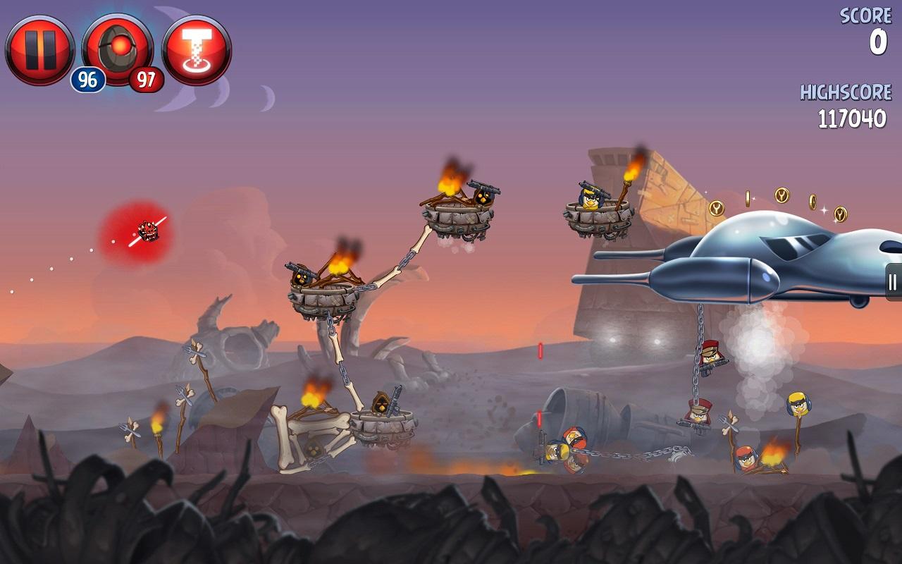 скачать angry birds star wars 2