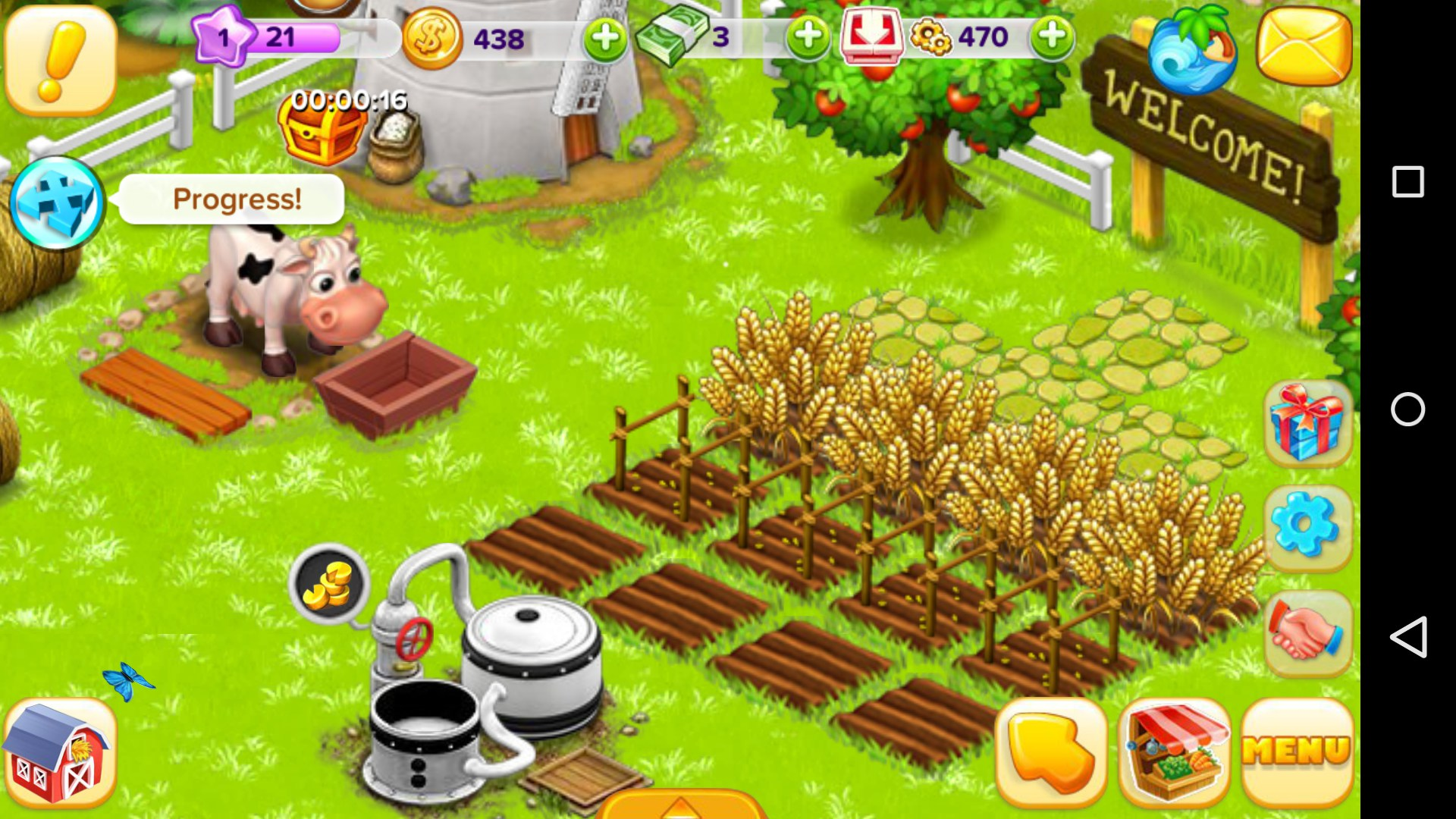 взломанная ферма