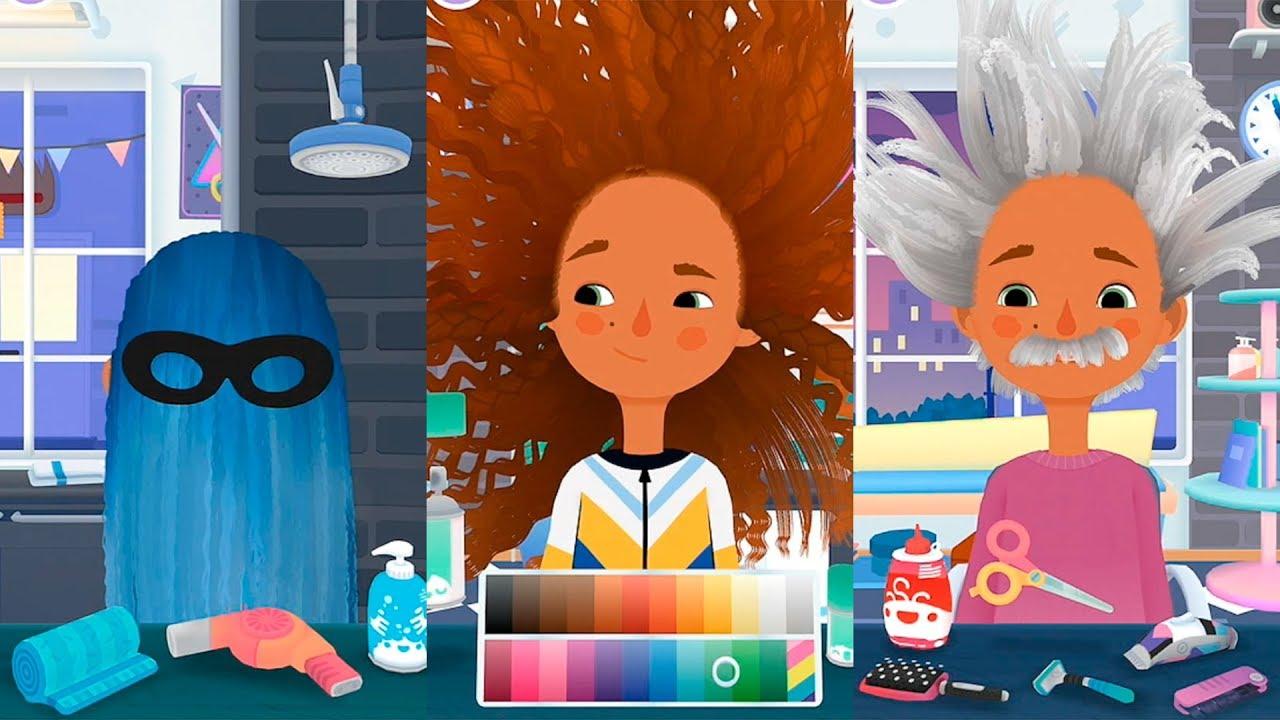 toca hair salon 3 скачать бесплатно