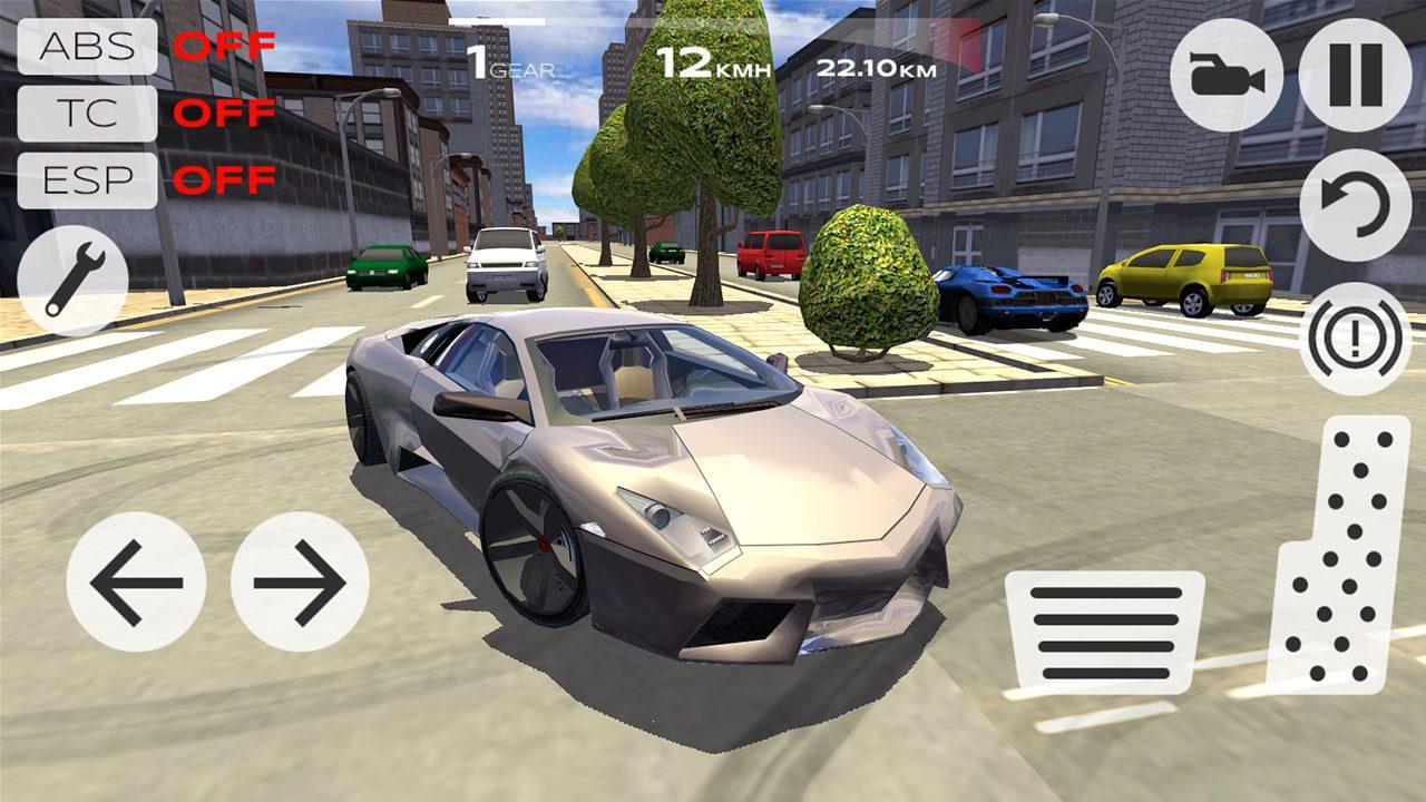 скачать взлом extreme car driving simulator