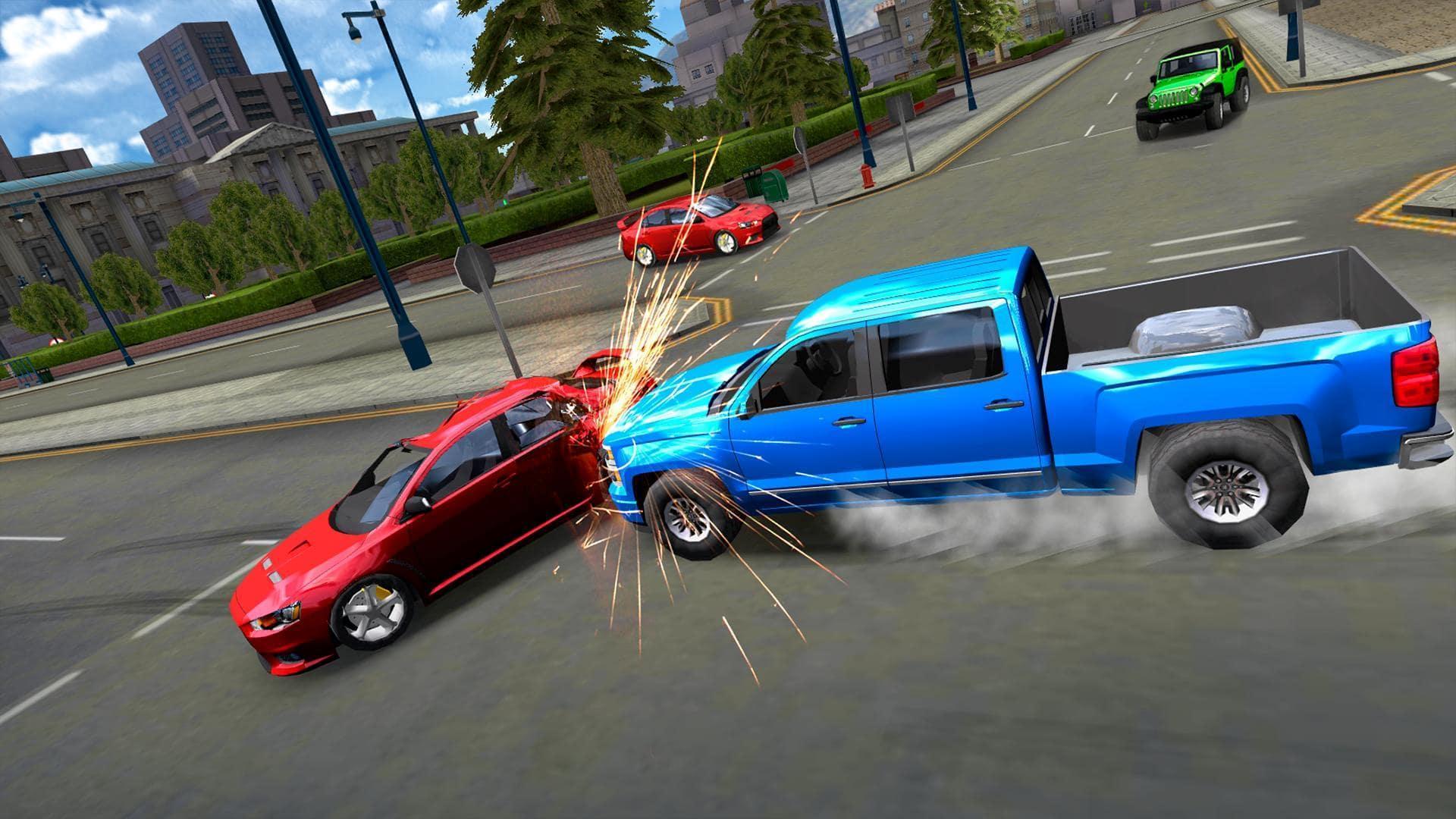 скачать extreme car driving simulator
