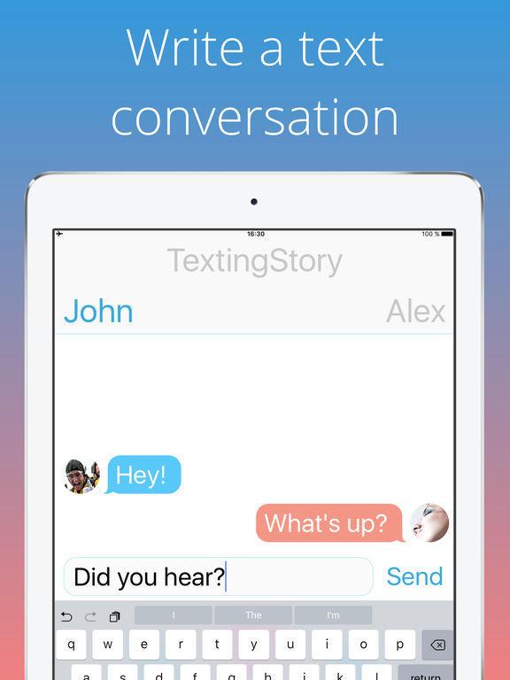 textingstory скачать