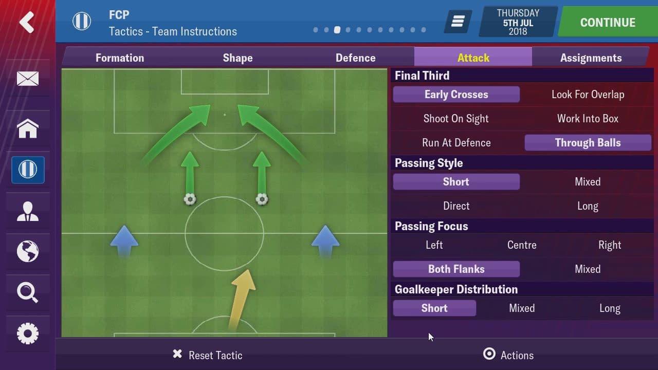 футбольный менеджер на андроид