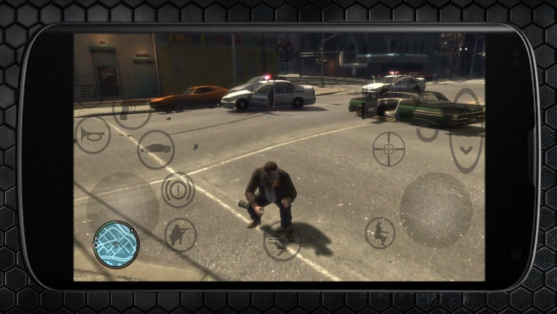 игровой процесс в GTA