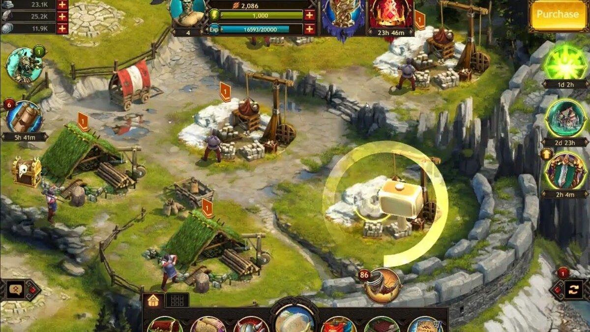vikings war of clans играть