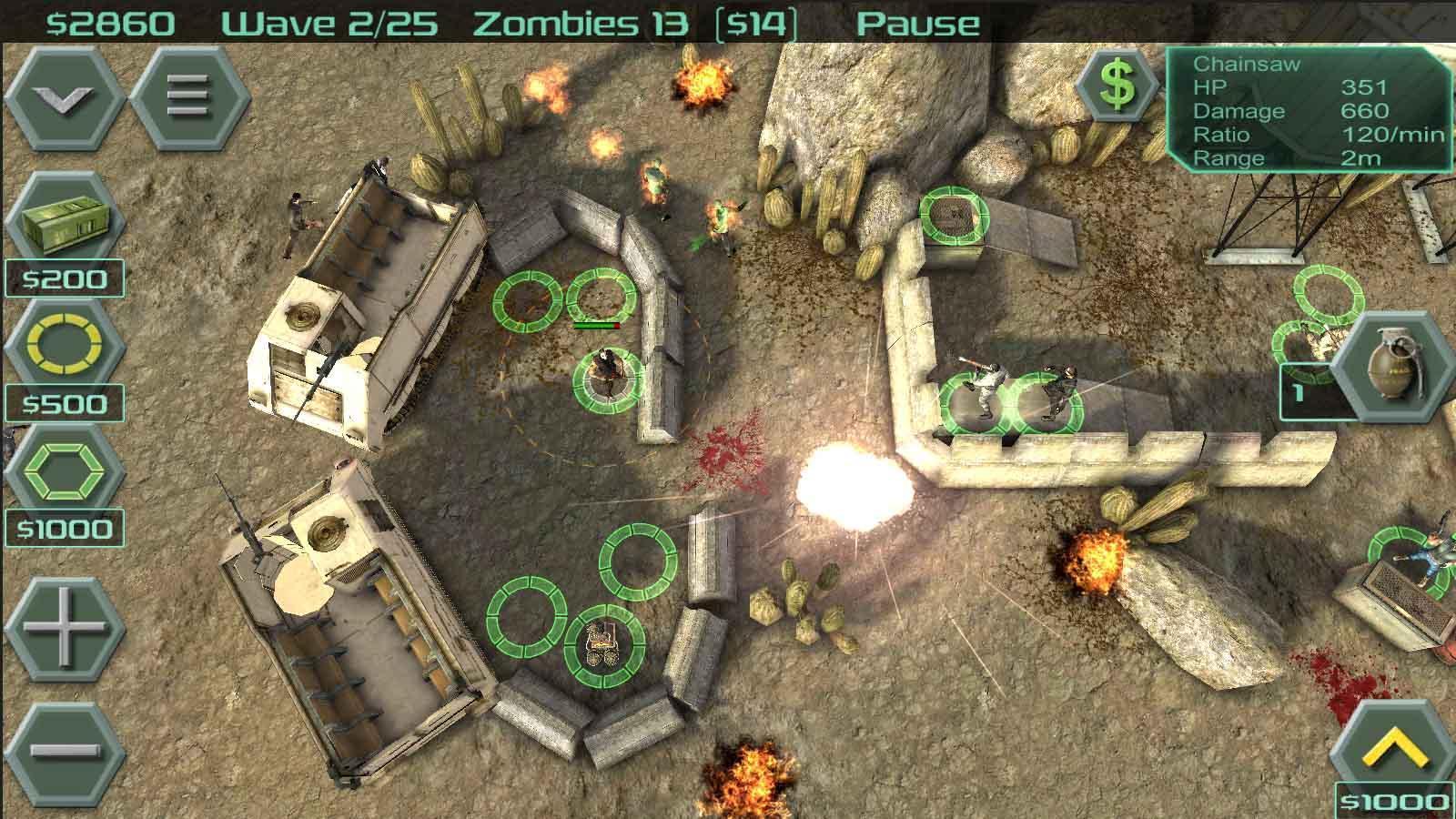 zombie idle defense mod